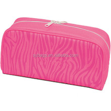 New Design Cosmetic Bag / Cosmetic Gift Carrier Bag /Satin Polyester Cosmetic Bag