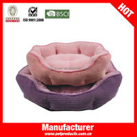 Cheap Round Plush Novelty Luxury Princess Dog Bed