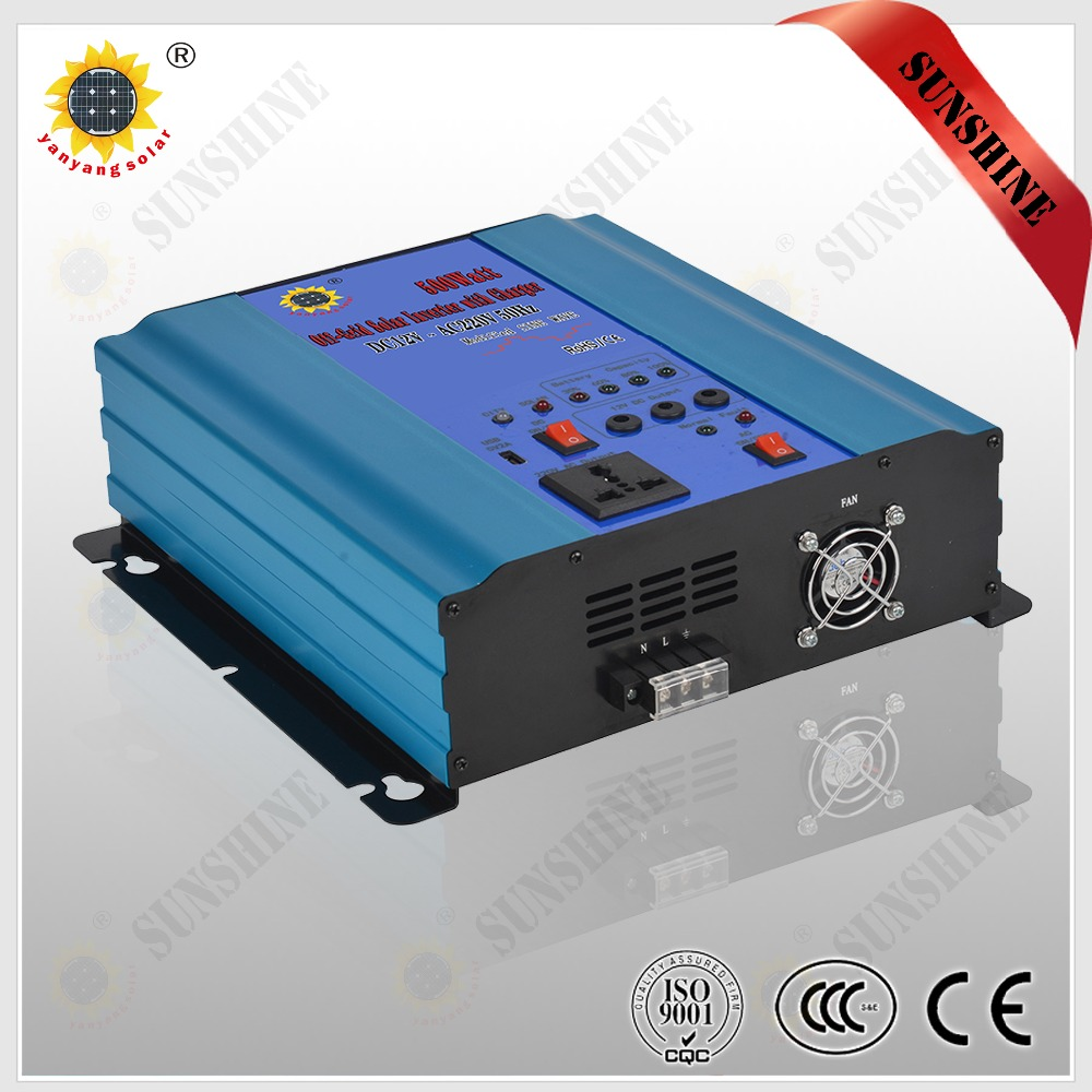 Off-Grid Solar Inverter with Charger 500w Modified Sine Wave