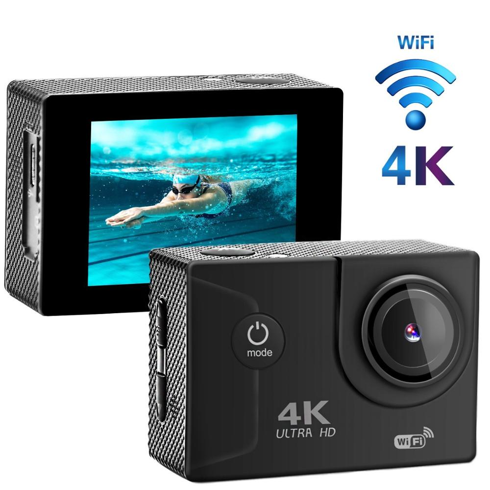 Prime Day Go Pro Style Full Hd Wifi Night Vision 170 degree 4k@30fps 16MP Sport Action Camera Special for Valentine's day Gift