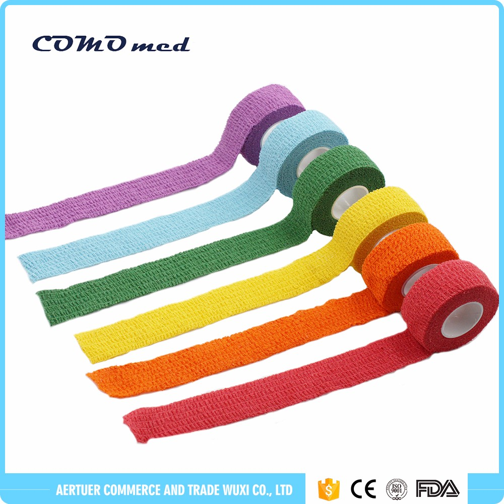Cohesive cotton bandages pet products veterinary