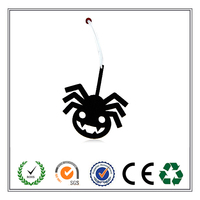 2016 hot selling spider shape felt ornament Halloween decoration