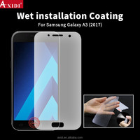 Scratch Resistant Matte Film Wet Application for Samsung Galaxy A3 2017 Nano Full Cover Screen Protector
