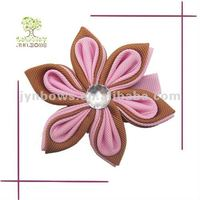 Boutique cute flower hair clips for kids