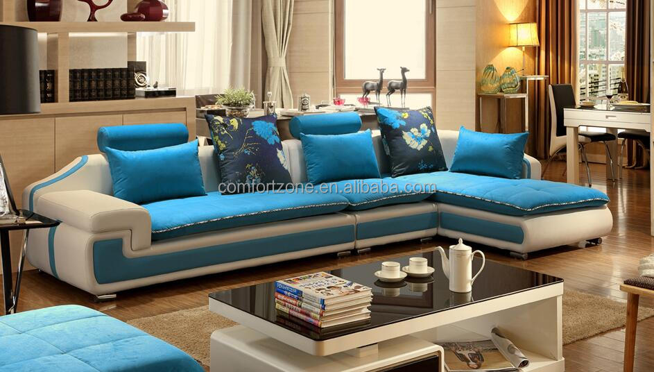 2017 hot sale italian modern fabric corner sofa