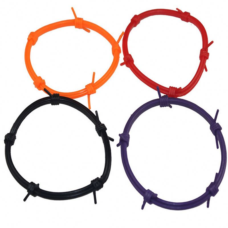 Top fashion different styles harmless silicone bracelets for men