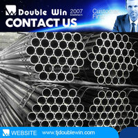 Tianjin factories steel pipes Q195 round surface