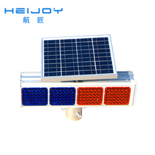 HEIJOY-STL-03 dock power and water pedestal Solar traffic lights