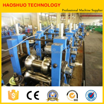 WG76 Straight Seam Welded Tube Mill Line
