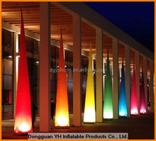 inflatable lighting LED cone decoration for party