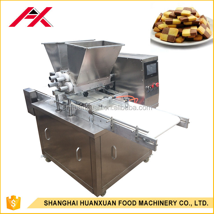 Rotary Roller Mould Commercial Cookie Machine Complete Line