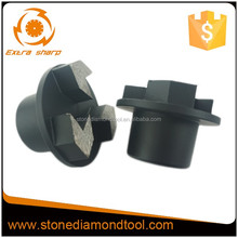3 Segments 15 mm height Concrete Diamond Grinding Plug