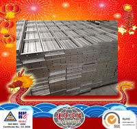 250mm*50mm*2500mm*1.8mm 2.0mm construction used Aluminum scaffolding steel plank factory
