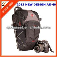 waterproof trangle dslr camera bag/nylon bag photo