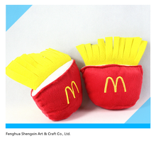 Ningbo Stuffed French Fries Wholesale Cute and Perfect Plush Pet Dog Toy
