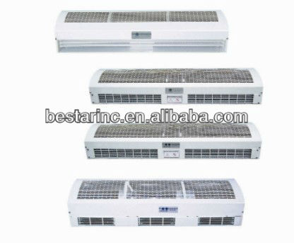 water heatting air curtain