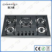 2016 Hot selling glass built-in gas stove,gas burner,gas cooker,cooktop
