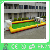 High quality adult Giant Inflatable Water Football Pitch for sale
