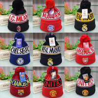 Adults Age Group and Dobby Style hat,knitted hat beanies skullies bonnet hat football club,knit hat