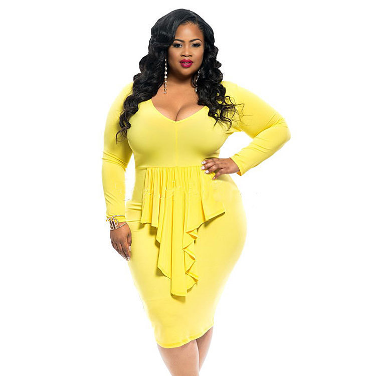 2016 new arrival sey strapless dress for women plus size women's clothing
