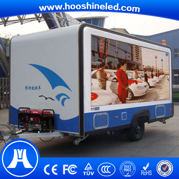 big advertising p10 led mobile stage truck for sale
