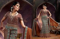 Designer Heavy Embroidered Ghagra Choli D.No - Manikarnika