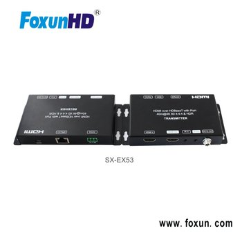 New 18G HDBaseT Extender with Dual POC , HDR transmit up to 70m under 1080p, 40m under 4k