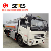 dongfeng 4x2 oil truck tanker truck capacity fuel tank truck for sale