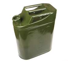 portable outdoor oil petrol storage can for car anti explosion made by cold roll steel sheet bin tank container 5L to 60L