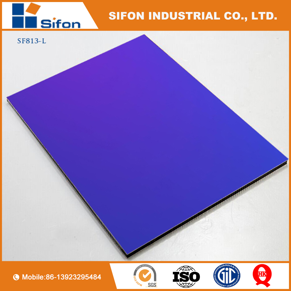 Fireproof ACP Aluminum Composite Panels Installation For Kitchen Cabinets Design