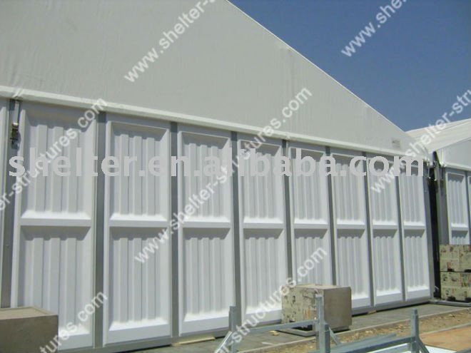 ABS Solid Wall white Tent for storage,warehouse