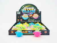 Aly Newest Plastic Electric Flashing Gyro Ball / Peg-top Toy