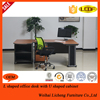 Chinese wooden executive table designs/modern CEO office furniture of the office