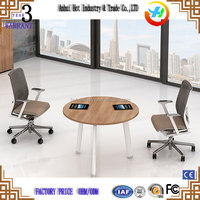 Office Table and Chair Price Small Round Design Office Meeting Table For Chatting