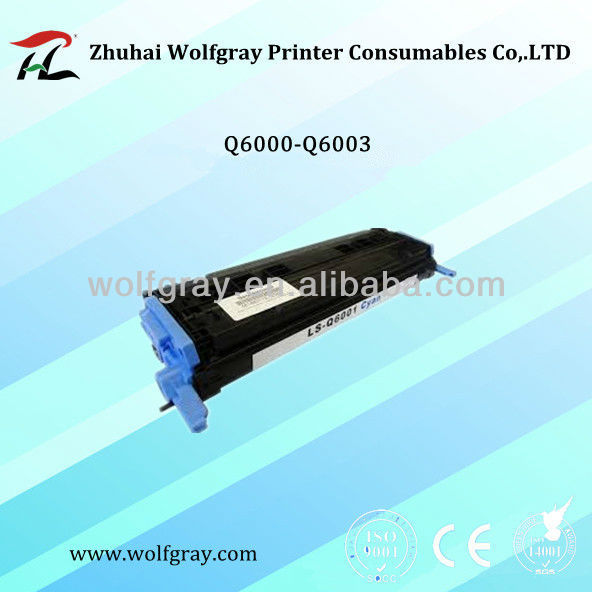 Laser Compatible for HP Q6001A laser toner cartridge
