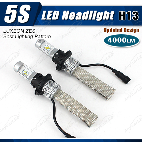 4000lm 5S h13 auto motorcycle car led suzuki swift projector headlight