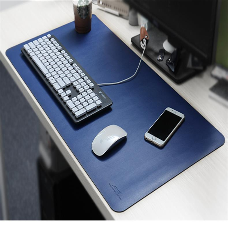 80 * 40 cm Multifunctional Computer Table Mat Waterproof Leather Pad Office Desk Mat