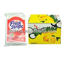 Tasty quality product candy made by sugar cube making machine fresh strips VE-F141