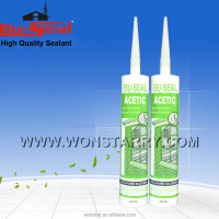 Big plate glass acetic curing silicone sealing sealant