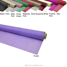 wholesale vinyl tablecloth film Plastic Solid Table Cover Rolls