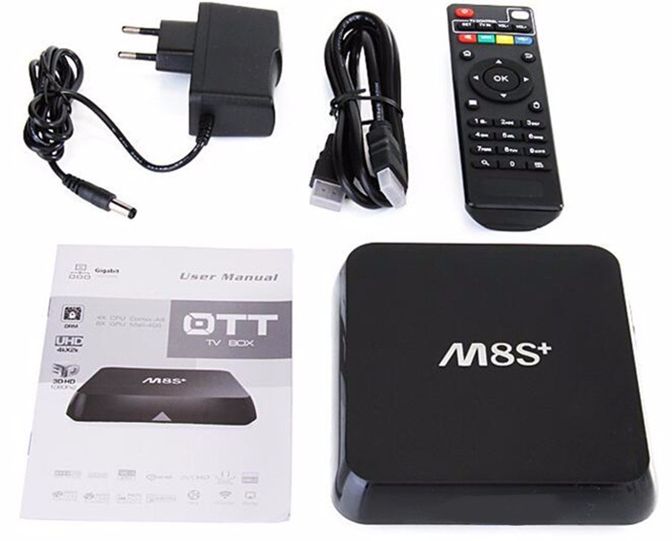 Newest M8S Plus Amlogic S812 M8S+ Android 5.1 Google android smart 4.3 tv box