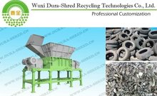 Scrap Tyre Shredder Equipment for colombia guest