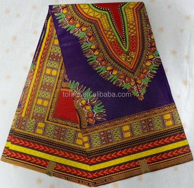 wholesale fashion good quality african wax prints fabric 6 yards