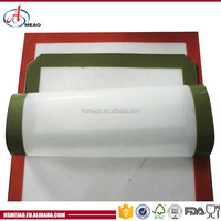 Disposable, Eco-Friendly silicone material baking and cooking mat/sheet, supplied by MEAO