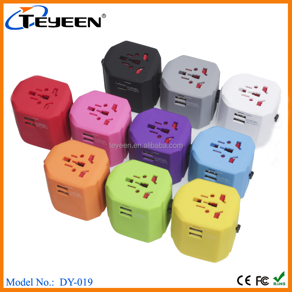 2016 new travel adaptor with USB