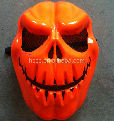 Halloween festival mask children dance performances props Halloween party Mardi Gras halloween pumpkin mask