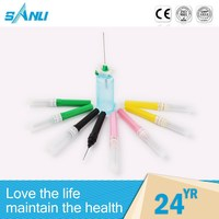 high safety surgical needle holder , single use surgical instrument , blood capillary instrument