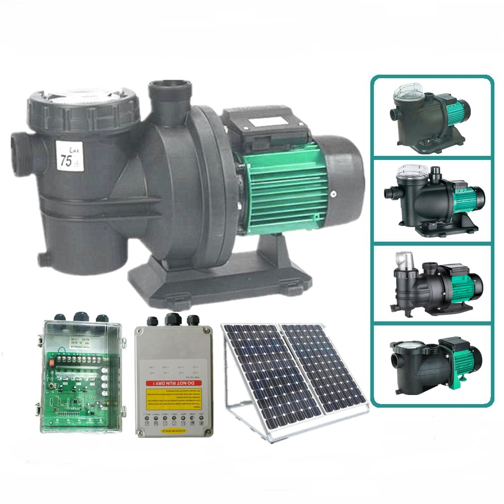 ( Free Shipping ) Solar pumps filter swimming pool( 1kw pool pump )