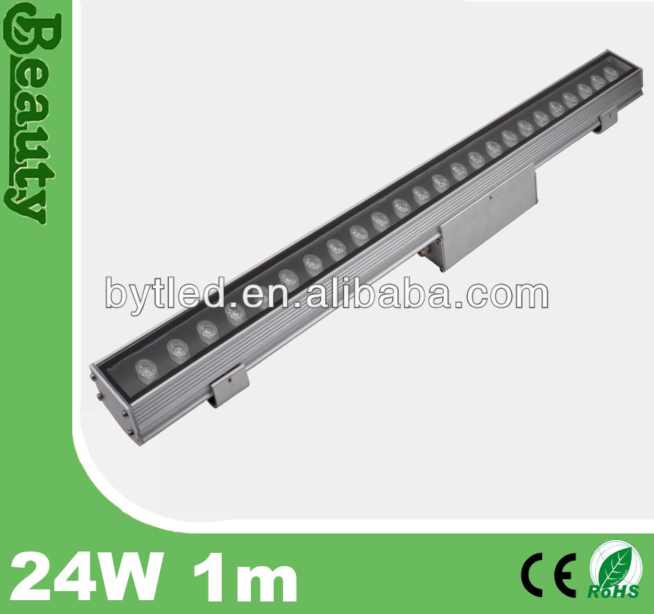1000mm Outdoor IP65 led linear 24w LED wall washer