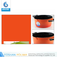 Enviromental cookware sets spray non stick coating
